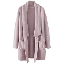 Buy Poetry Soft Cotton Cardigan, Plum Online at johnlewis.com