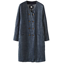 Buy Poetry Twill Linen Coat Online at johnlewis.com