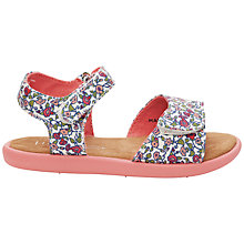 Buy TOMS Floral Print Sandals, Multi Online at johnlewis.com