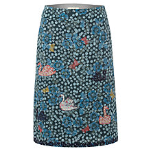 Buy White Stuff Swans Bells and Whistles Skirt, Dark Dragon Online at johnlewis.com