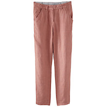Buy Poetry Linen Cropped Trousers Online at johnlewis.com