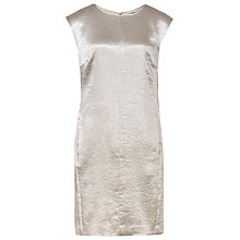Buy Reiss Fava Metallic Shift Dress, Star Online at johnlewis.com