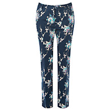 Buy Oasis Caitlin Trousers, Blue Online at johnlewis.com