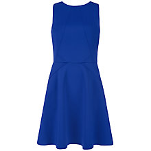 Buy Ted Baker Panel Skater Dress, Bright Blue Online at johnlewis.com