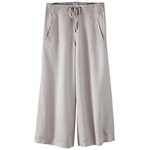 Buy Poetry Cropped Linen-Blend Trousers Online at johnlewis.com