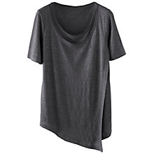 Buy Poetry Layered Linen T-shirt Online at johnlewis.com