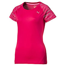 Buy Puma Nightcat Illuminate Running T-Shirt, Pink Online at johnlewis.com