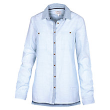 Buy Fat Face Blythe Vertical Stripe Shirt, Blue Breeze Online at johnlewis.com
