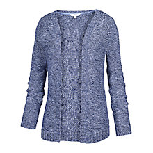 Buy Fat Face Loftus Edge to Edge Cardigan, Indigo Online at johnlewis.com