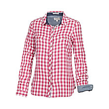 Buy Fat Face Classic Fit Gingham Shirt, Rose Online at johnlewis.com