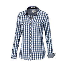 Buy Fat Face Classic Fit Gingham Shirt, Navy Online at johnlewis.com