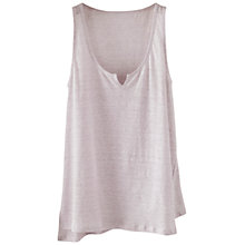 Buy Poetry Striped Linen Jersey Vest Online at johnlewis.com