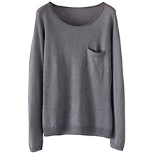 Buy Poetry Linen Crew Neck Jumper Online at johnlewis.com
