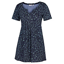 Buy Fat Face Falmouth Butterfly Tunic Dress, Navy Online at johnlewis.com