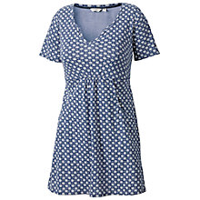 Buy Fat Face Flamouth Batik Star Tunic Dress, Dark Chambray Online at johnlewis.com