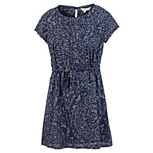 Buy Fat Face Butterfly Tunic Dress, Navy Online at johnlewis.com