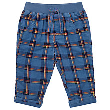 Buy John Lewis Baby's Check Cord Trousers, Multi Online at johnlewis.com