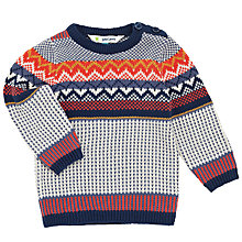 Buy John Lewis Baby Fairisle Jumper, Multi Online at johnlewis.com