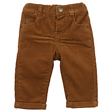 Buy John Lewis Baby's Cord Trousers, Toffee Online at johnlewis.com