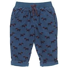 Buy John Lewis Baby's Scotty Dog Cord Trousers Online at johnlewis.com