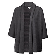Buy Fat Face Lace Kimono Cardigan, Phantom Online at johnlewis.com