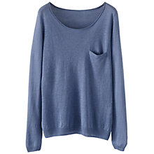 Buy Poetry Linen Jumper, Aqua Online at johnlewis.com