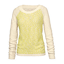 Buy Fat Face Tuck Stitch Billie Knit Jumper Online at johnlewis.com