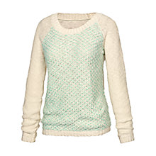 Buy Fat Face Tuck Stitch Billie Jumper Online at johnlewis.com