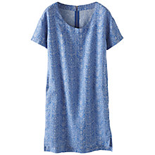 Buy Poetry Printed Linen Dress Online at johnlewis.com