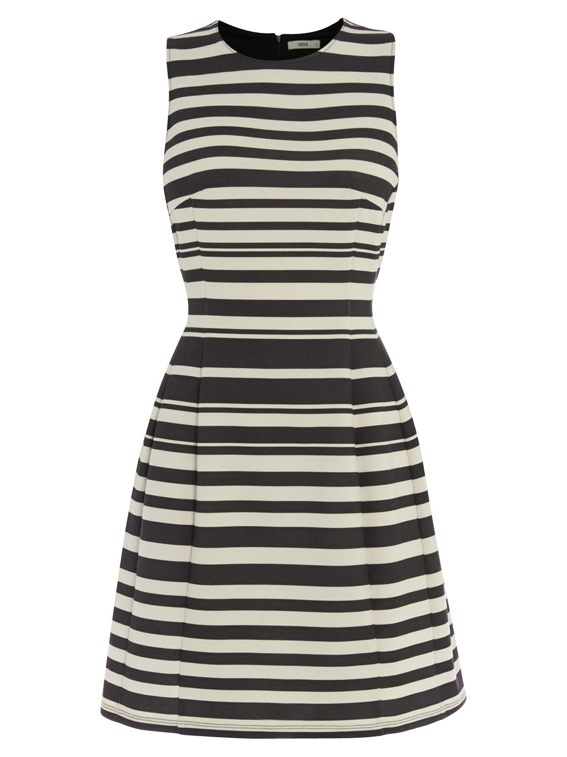 oasis stripe ponte dress black/white, oasis, stripe, ponte, dress, black/white, special offers, womenswear offers, women, womens dresses, latest reductions, womens dresses offers, 1865848