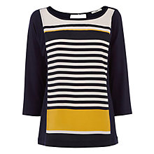 Buy Oasis Graduated Stripe T-shirt, Multi Online at johnlewis.com