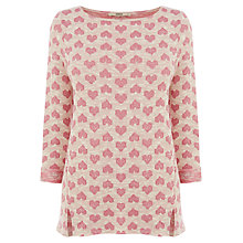 Buy Oasis Heart Jacquard Sweater Online at johnlewis.com