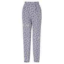 Buy Phase Eight Shae Spotted Trousers, Navy/Ivory Online at johnlewis.com