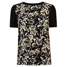 Buy Oasis Photo Floral Print Top, Multi Online at johnlewis.com