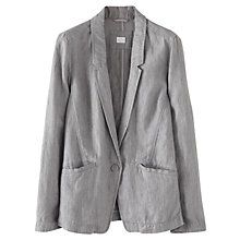Buy Poetry Garment-dyed Linen Jacket Online at johnlewis.com