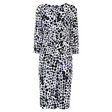 Buy Phase Eight Abellona Spot Dress, Blue/White Online at johnlewis.com