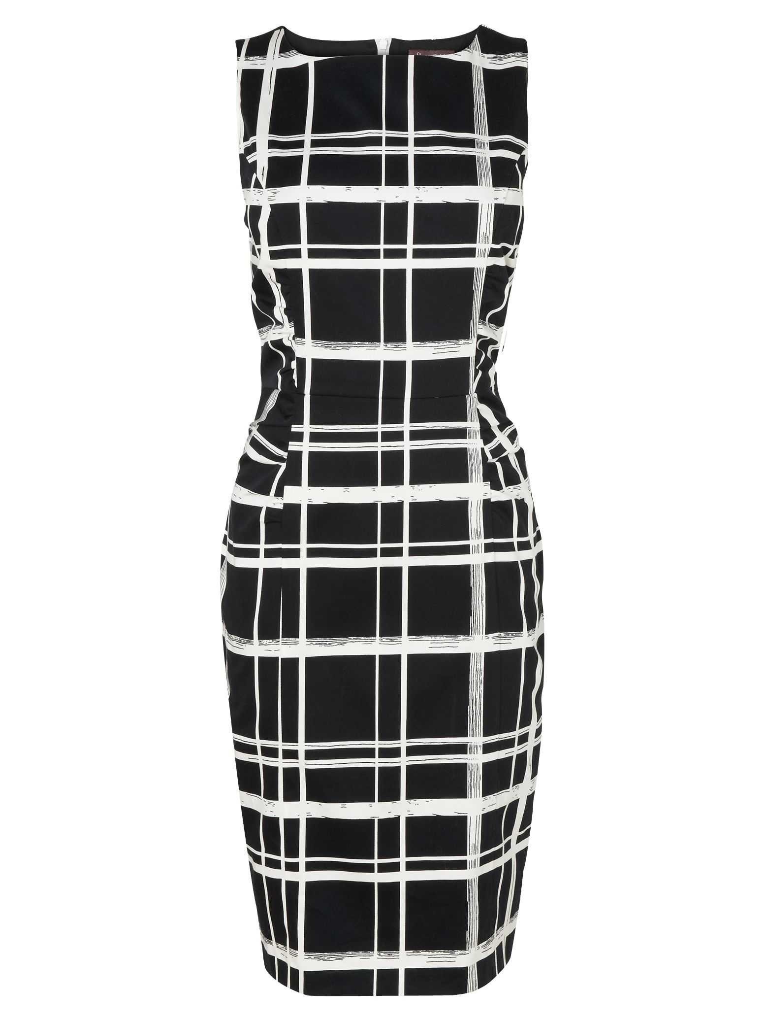 phase eight greta checked dress black/ivory, phase, eight, greta, checked, dress, black/ivory, phase eight, 14|18|16|12|8, women, womens dresses, special offers, womenswear offers, 20% off full price phase eight, womens dresses offers, latest reductions, fashion magazine, brands l-z, inactive womenswear, 1867418