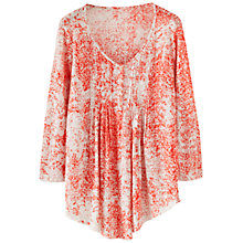 Buy Poetry Printed Linen Jersey Top Online at johnlewis.com