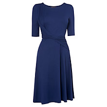 Buy Phase Eight Fay Full Hem Dress, Navy Online at johnlewis.com