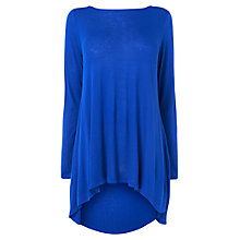 Buy Phase Eight Launa Longline Top, Blue Online at johnlewis.com