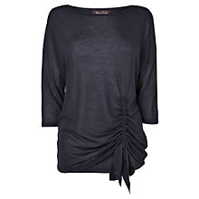 Buy Phase Eight Elisa Top, Navy Online at johnlewis.com