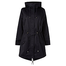 Buy Phase Eight Payton Parka Coat, Navy Online at johnlewis.com