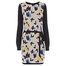Buy Oasis Printed Woven Front Tunic Dress, Multi Online at johnlewis.com