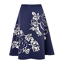 Buy Phase Eight Roselle Skirt, Storm Blue Online at johnlewis.com