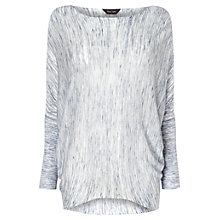 Buy Phase Eight Space Dye Becca Batwing Jumper, Slate/Ivory Online at johnlewis.com