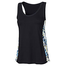 Buy Fat Face Activ88 Abstract Panel Vest, Black Online at johnlewis.com