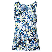 Buy Fat Face Activ88 Floral Vest, Cobalt Online at johnlewis.com