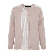 Buy French Connection Summer Ivy Lace Knitted Cardigan Online at johnlewis.com