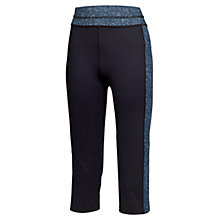 Buy Fat Face Activ88 Moonlight Capri Leggings, Black Online at johnlewis.com