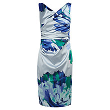 Buy Coast Abelisa Duchess Satin Dress, Multi Online at johnlewis.com